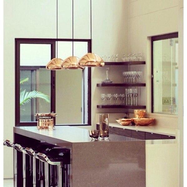 Неординарные подвесные светильники - как яркий элемент в дизайне интерьера