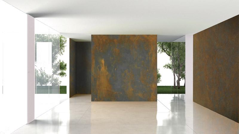 Декоративное покрытие IRONic в дизайне интерьера