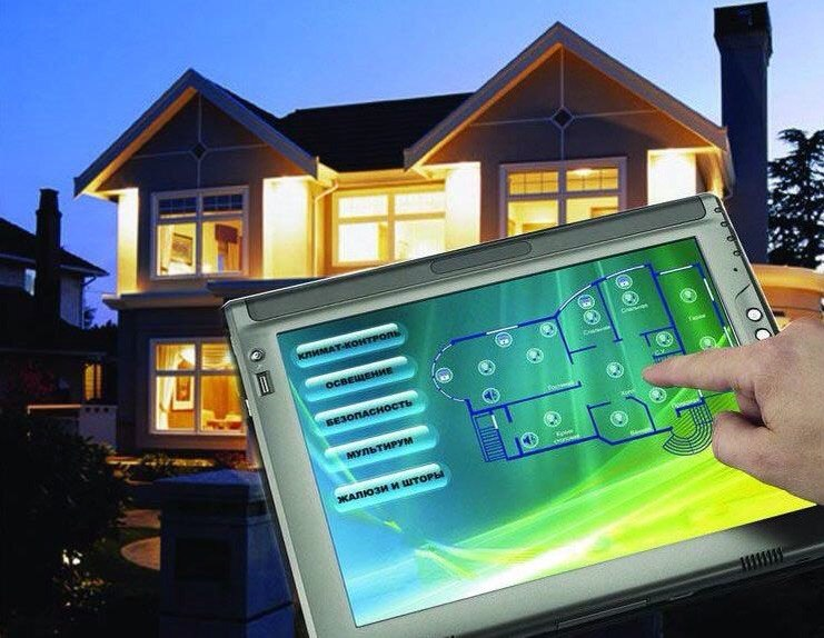 Система умный дом в дизайне интерьера