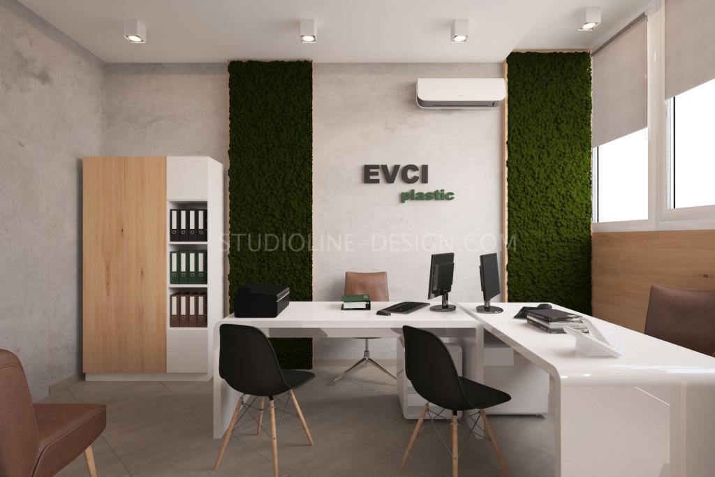 Дизайн интерьера офиса в Харькове. Работа нашей студии