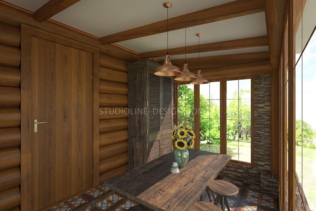 Мебель в стиле рустик отлично подчеркивает деревенский стиль в интерьере