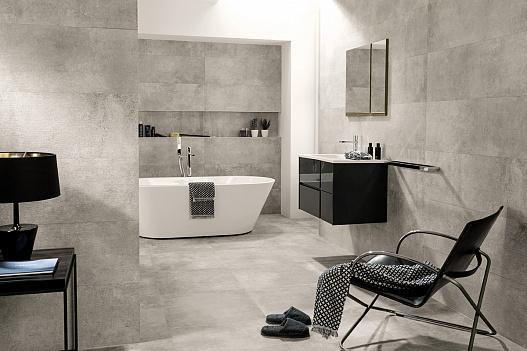 Ректифицированная плитка Venis в интерьере ванной